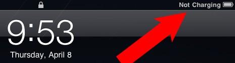 Cuando el iPad indica que no está cargando la batería, sí que podría estar cargándola 3