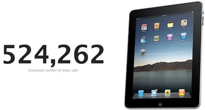 Las ventas del iPad podrían haber superado las 500,000 unidades 3
