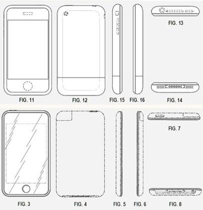 Apple recibe patente sobre el diseño del iPhone original 3