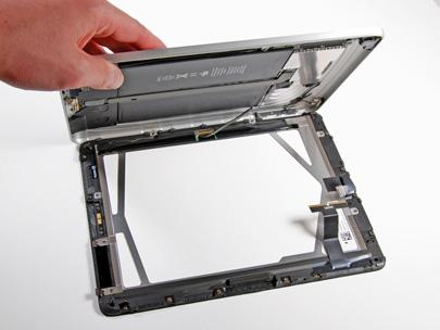 Disección total de un iPad 15