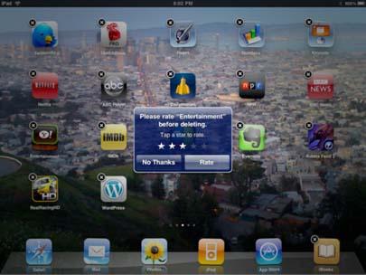Apple elimina la función 'calificar al eliminar' en el iPhone OS 4 3