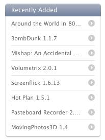 La pagina de descargas de Mac OS X Apple ha sido actualizada 3