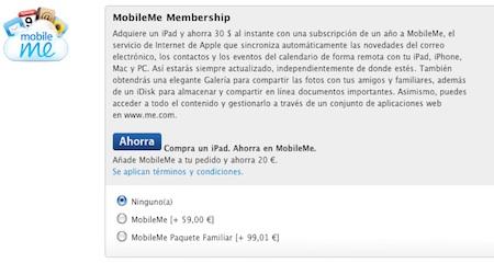Sobre la posibilidad de que Apple ofrezca MobileMe gratuitamente: podría ser 3