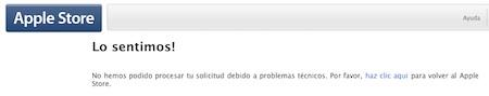 Apple está de mantenimiento... desde hace una semana 5