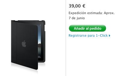 ¿Apple está retrasando en España el envío del iPad y sus accesorios? 5