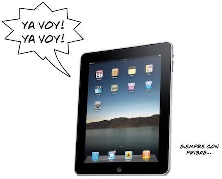 El retraso del envío de los iPad reservados afecta a toda Europa 3