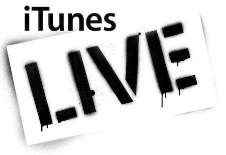 Apple registra la marca iTunes Live 3