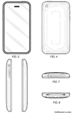 Apple recibe patente sobre el diseño del iPhone 3G y 3GS 3