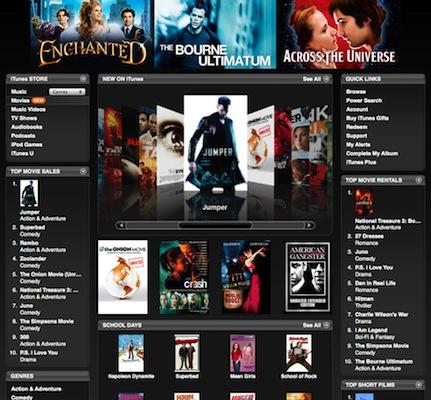 Francia e Irlanda se suben al carro de las películas de la iTunes Store 3