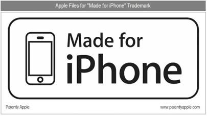 Apple busca obtener la marca registrada de la frase y logo 'Made for iPhone' 3