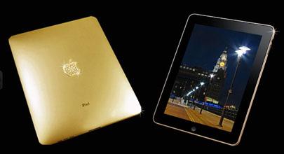 Un iPad de oro sólido a $189,000 Dólares 3