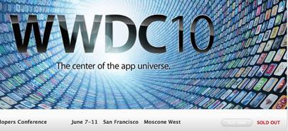 Se han terminado las entradas para la WWDC10 3