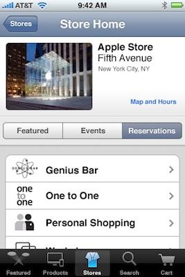Apple lanza la app para comprar en la store online desde la plataforma iPhone 9