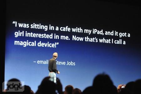 WWDC 2010 Keynote inaugural: las cifras del iPad #wwdc10 3