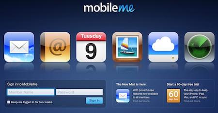 Apple deja de vender MobileMe en su tienda en línea, se rumorea un servicio mejorado y gratuito 3