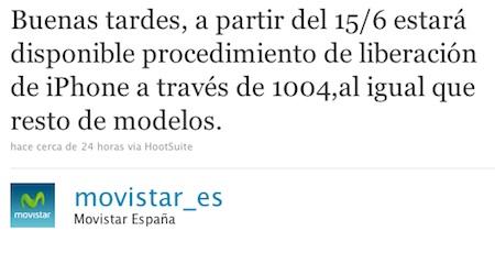 Movistar liberará el iPhone a partir del día 15 3