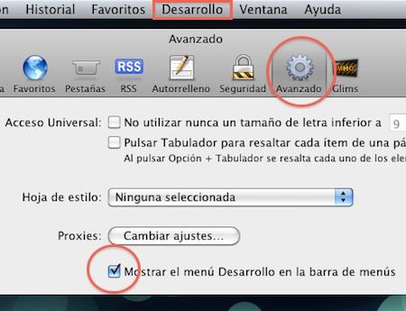 Tutorial: Como activar e instalar extensiones en Safari 5 10