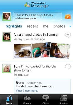 Windows Live Messenger para iPhone ya está disponible en la App Store 3