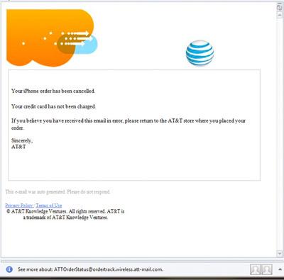 AT&T y Apple están cancelando reservas del iPhone 4 de manera aleatoria 3