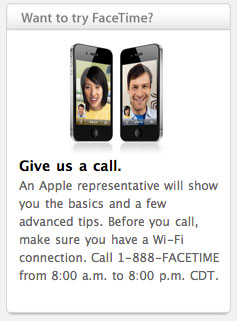 Apple habilita una línea gratuíta para probar FaceTime 3