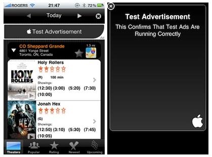 La plataforma publicitaria iAd empieza a asomarse en la App Store 3