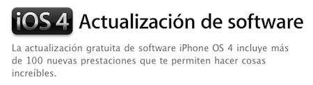 Antes de actualizar tu iPhone o iPod touch con iOS 4, toma nota 3