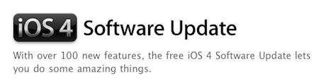 La actualización de iOS 4, gratuíta y compatible para todos... o casi 3