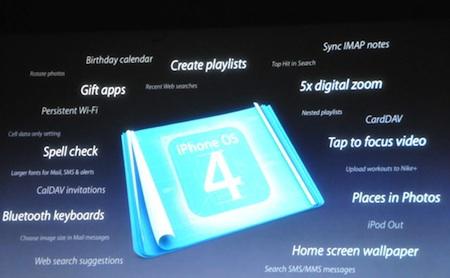 Las claves de iOS4, las nuevas APIs 3