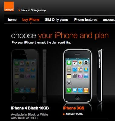 Orange UK dice que el retraso del iPhone 4 se debe al problema de antena 3