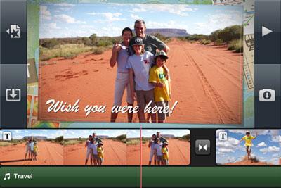 Apple actualiza iMovie para iPhone a la versión 1.1 3