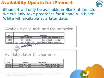Rumor: El iPhone 4 sólo estaría disponible en color negro durante las primeras semanas 3