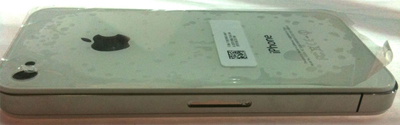 Se filtran más imágenes del iPhone 4G en color blanco 6