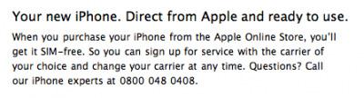 Apple comienza a vender terminales del iPhone desbloqueadas en varias tiendas internacionales 3
