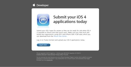 Apple insta a los desarrolladores a tener listas sus apps para iOS 3