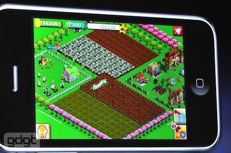 WWDC 2010 Keynote inaugural: Netflix,Farmville y Guitar Hero llegan a la plataforma iPhone OS #wwdc10 3