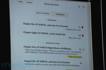WWDC 2010 Keynote inaugural: Llegan novedades para la app iBooks #wwdc10 3