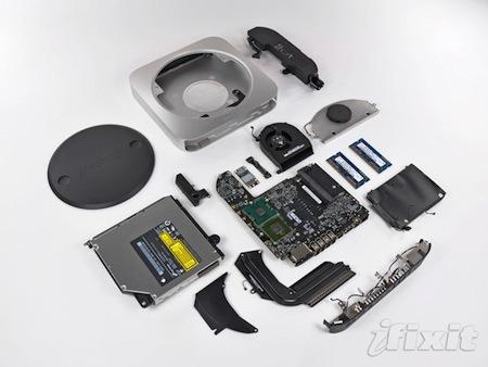 El nuevo Mac mini destripado por iFixit 3