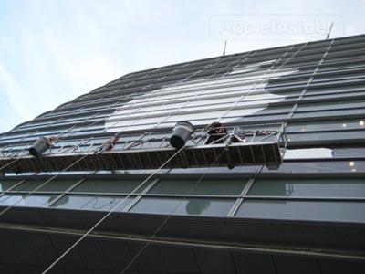 Apple ya está decorando el Moscone Center para la WWDC 2010 3