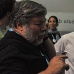 Nos tomamos unos refrescos con Wozniak en la sala VIP #CPValencia 4