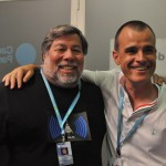 Nos tomamos unos refrescos con Wozniak en la sala VIP #CPValencia 5