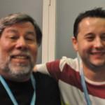 Nos tomamos unos refrescos con Wozniak en la sala VIP #CPValencia 6