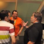 Nos tomamos unos refrescos con Wozniak en la sala VIP #CPValencia 9