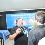 Nos tomamos unos refrescos con Wozniak en la sala VIP #CPValencia 12