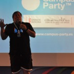 Nos tomamos unos refrescos con Wozniak en la sala VIP #CPValencia 19