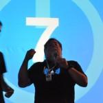 Nos tomamos unos refrescos con Wozniak en la sala VIP #CPValencia 21