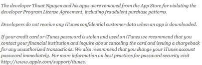 Apple se pronuncia oficialmente con respecto al fraude y hackeo de algunas cuentas de iTunes 3