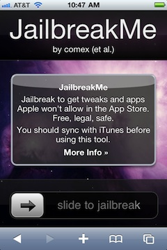 Jailbreak basado en web ya está disponible para el iPhone 4 y el iPad 3