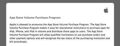 Apple ofrece descuentos al sector educativo al comprar aplicaciones por volumen en la App Store 3