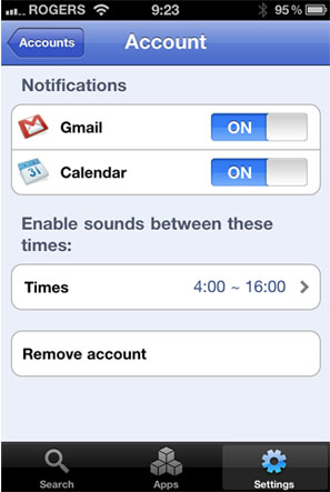 La aplicación Google Mobile para iPhone añade notificaciones push 3