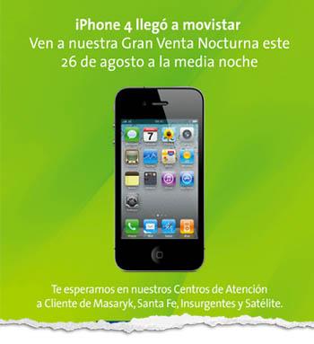 Precios del iPhone 4 en México 6